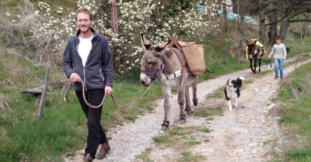 Ânes sans frontières - randonnées avec des ânes bâtés