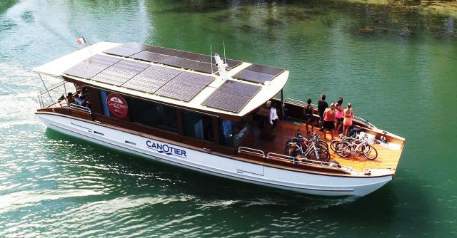 Promenade sur le Rhône avec Les Canotiers BoatnBike