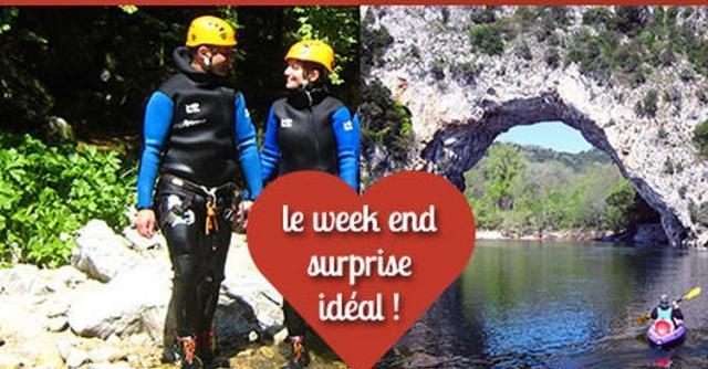 Week end en amoureux  : D'amour et d'eau fraîche