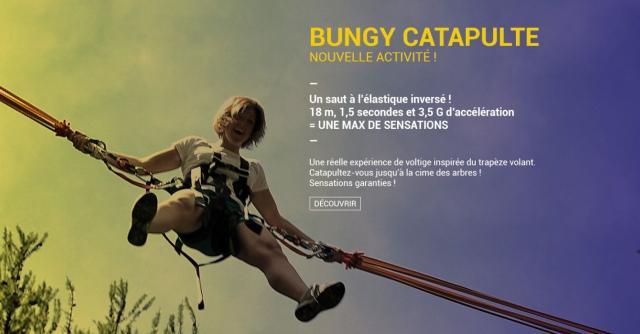 Bungy Catapulte