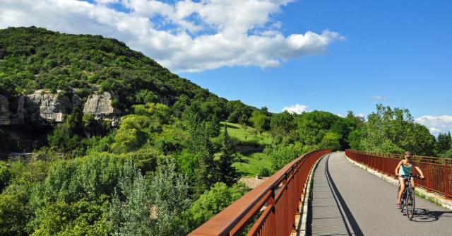 A vélo - De la Payre à la Dolce Via