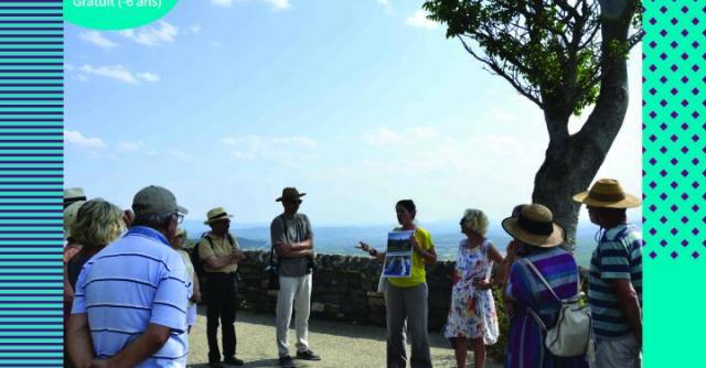Visite guidée à Saint-Laurent-sous-Coiron : le belvédère du Coiron