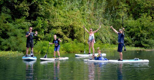 Outdoor academy : paddle et multi-activités