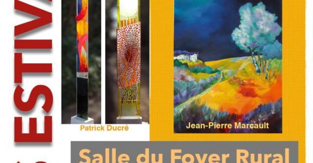 Exposition Les estivales 2020 de St Vincent de Barrès