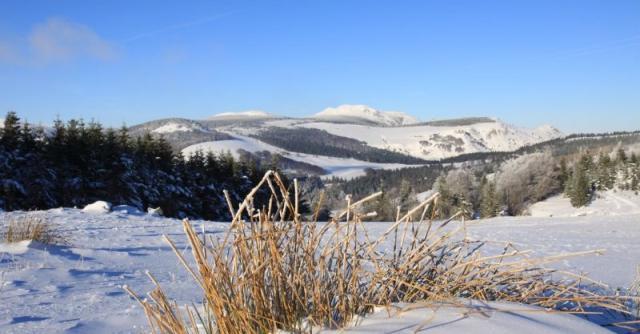 Traversée de la Montagne Ardéchoise en hiver