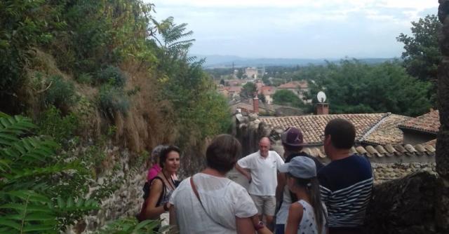 """Visite guidée du village de Beauchastel : """"Beauchastel à la croisée des chemins"""""""