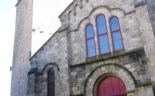 Eglise Sainte Baudile à Antraïgues