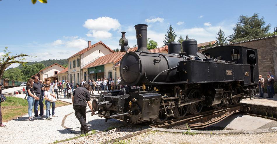 Tourisme en Ardèche : Le Train de l'Ardèche