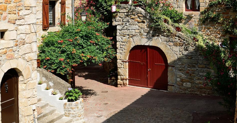 Village de caractère Vinezac