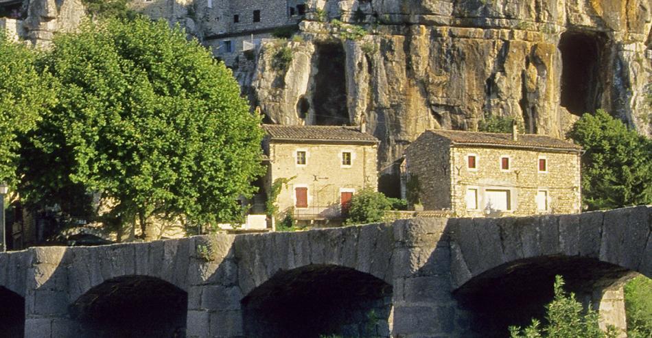 Village de caractère Labeaume