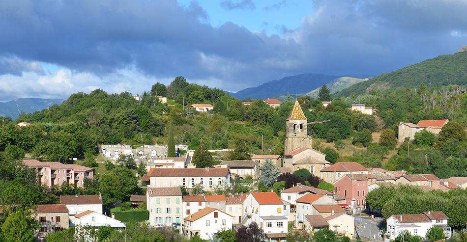 Village de caractère Meyras