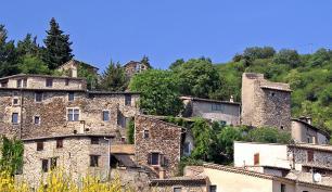 Village de caractère Beauchastel