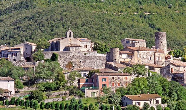 Village de caractère Saint-Vincent de Barrès