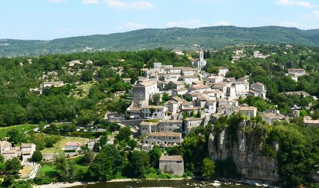 Village de caractère Balazuc