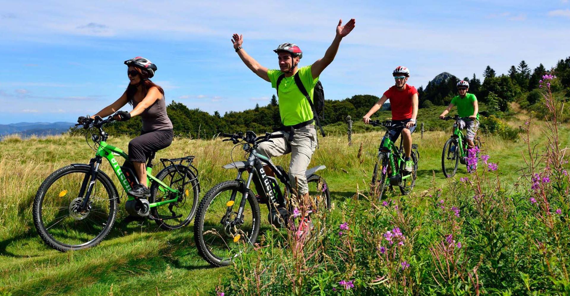 Tourisme en Ardèche : L'Ardèche à Vélo