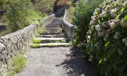 Hermitage Tournonais Tourisme - Sentier des Tours