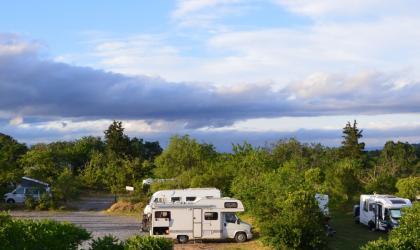 la ferme théâtre - Stationnement Camping car Ardèche