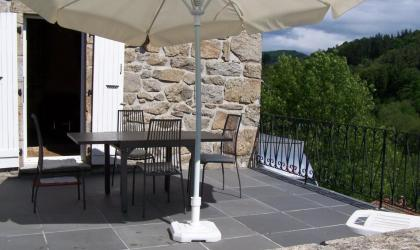 Michel Genot - Gîte Michel Genot extérieur terrasse