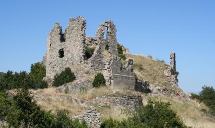 © Nicolas Garousse - Les ruines du Château de Pierre-Gourde