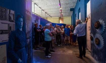 ©Simon BUGNON - 2019 - Chirols - Écomusée du moulinage - Visite de groupe