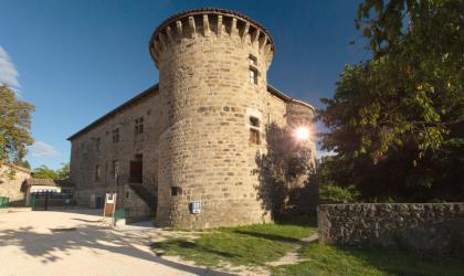©S.BUGNON - Jaujac - Château de Castrevieille ©S.BUGNON