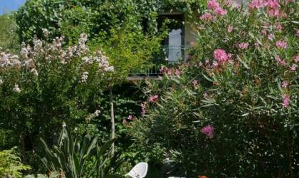 Gîtes de France - Vue du gîte à partir du jardin