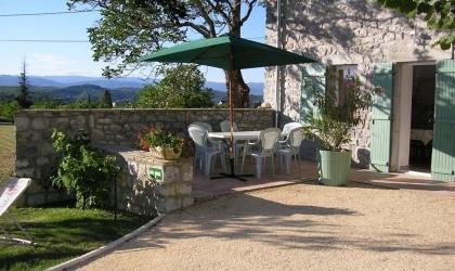 Gîtes de France - la terrasse du sud