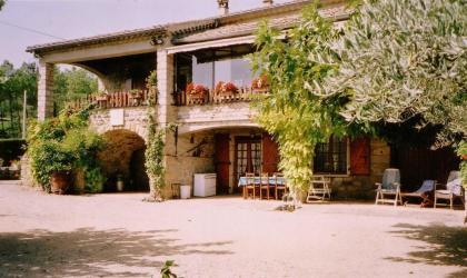 Gîtes de France - Vue du gite au rez de jardin