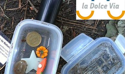 Geocaching sur Dolce Via