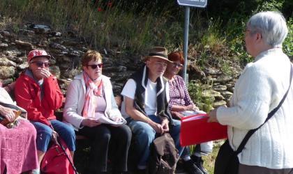 Patrimoine du Pays de l'Herbasse - sentier lecture_St Donat