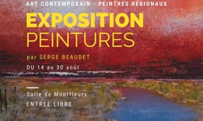 Office de Tourisme Berg et Coiron - Exposition peintures Serge beaudet