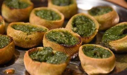 Escargots de Mars - Semaine gourmande : Escargots en croquilles