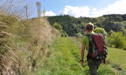 Office de tourisme du Pays de Saint Félicien - Chemin de randonnée autour d'Arlebosc