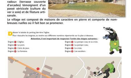 Randoland - Randoland - jeu de piste pour enfants à St Maurice d'Ibie