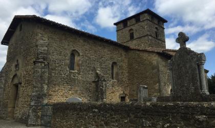 Ardèche Hermitage - Eglise de Bathernay