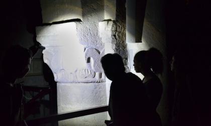 Pays d'art et d'histoire - L'abbatiale à la lampe torche, 2019