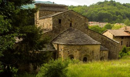 ©S.BUGNON - Montpezat-sous-Bauzon - Prévenchère focus église