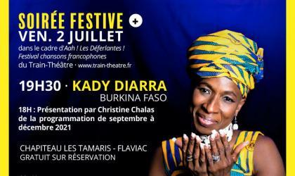 Soirée festive au Théâtre à Flaviac