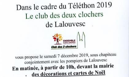 2 clochers - Téléthon Lalouvesc