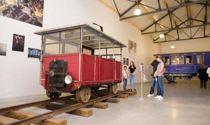 S. Bridot - espace de découverte du chemin de fer_Train de l'Ardèche