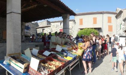 Association Croq'Ardèche - Marché de Saint Pons