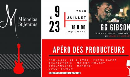 Domaine Michelas St Jemms - Apéro des Producteurs - Michelas St Jemms - Mercurol Veaune