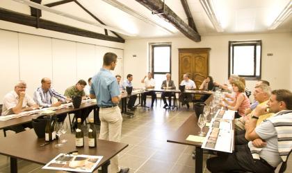 M. CHAPOUTIER - Atelier Grands Vins avec Maxime CHAPOUTIER_Maison CHAPOUTIER_Tain l'Hermitage