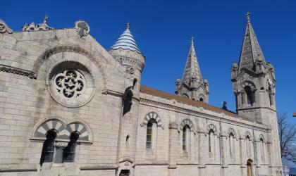 Séverine Moulin - Basilique extérieur