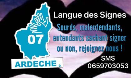 LSF en Ardèche - Tour de Mirabel en lague des signes