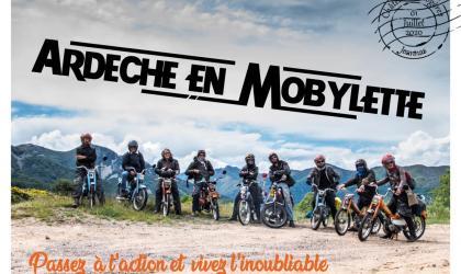 Ardèche en mobylette
