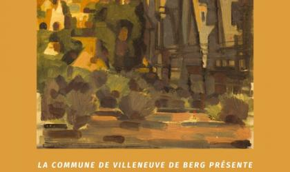 """Mairie de Villeneuve de Berg - Exposition """"l'Ardèche, le bout du voyage"""" à Villeneuve de Berg"""