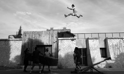 Samira Boukhnous - Spectacle Chouf le ciel - Jours de Cirque