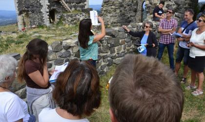 Pays d'art et d'histoire du Vivarais méridional - Visite guidée du village de Mirabel