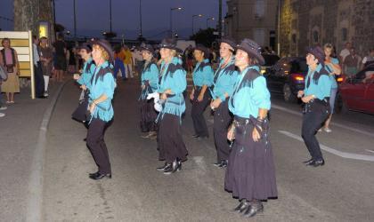 Comité des fêtes Tournon - Parade nocturne_Quai Farconnet_Tournon sur Rhône